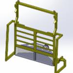 Barless liner discharge rig